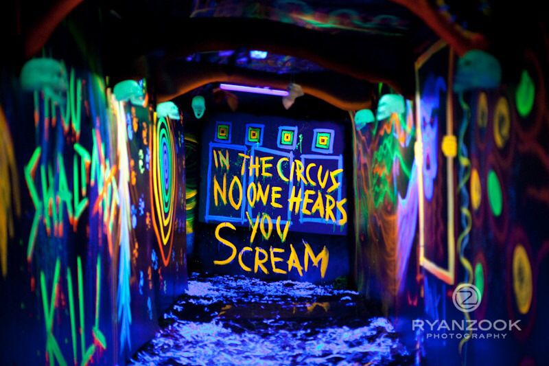 Blacklight Room Halloween House Halloween Maze Blacklight Halloween