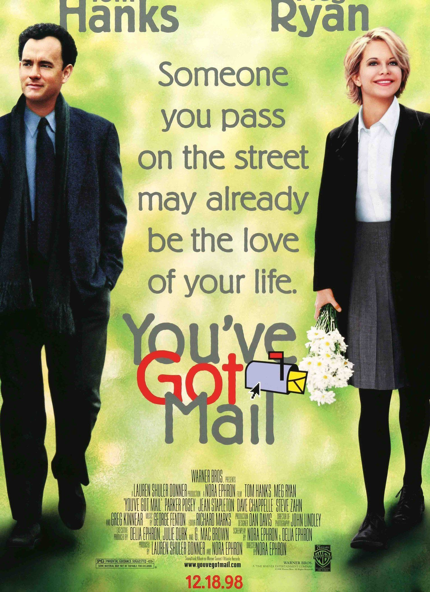 Youve Mail Gotyou Ve Got Mail 1998 You Ve Got Mail 1998 You Ve Got Mail 1998 Romantic Movies Movie Posters Movie Posters For Sale