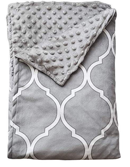 """Quility Premium Kids /& Adult Removable Duvet Cover for Weighted Blanket 48/""""x 72/"""""""
