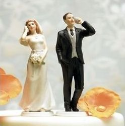 this is definately our's son's wedding topper!