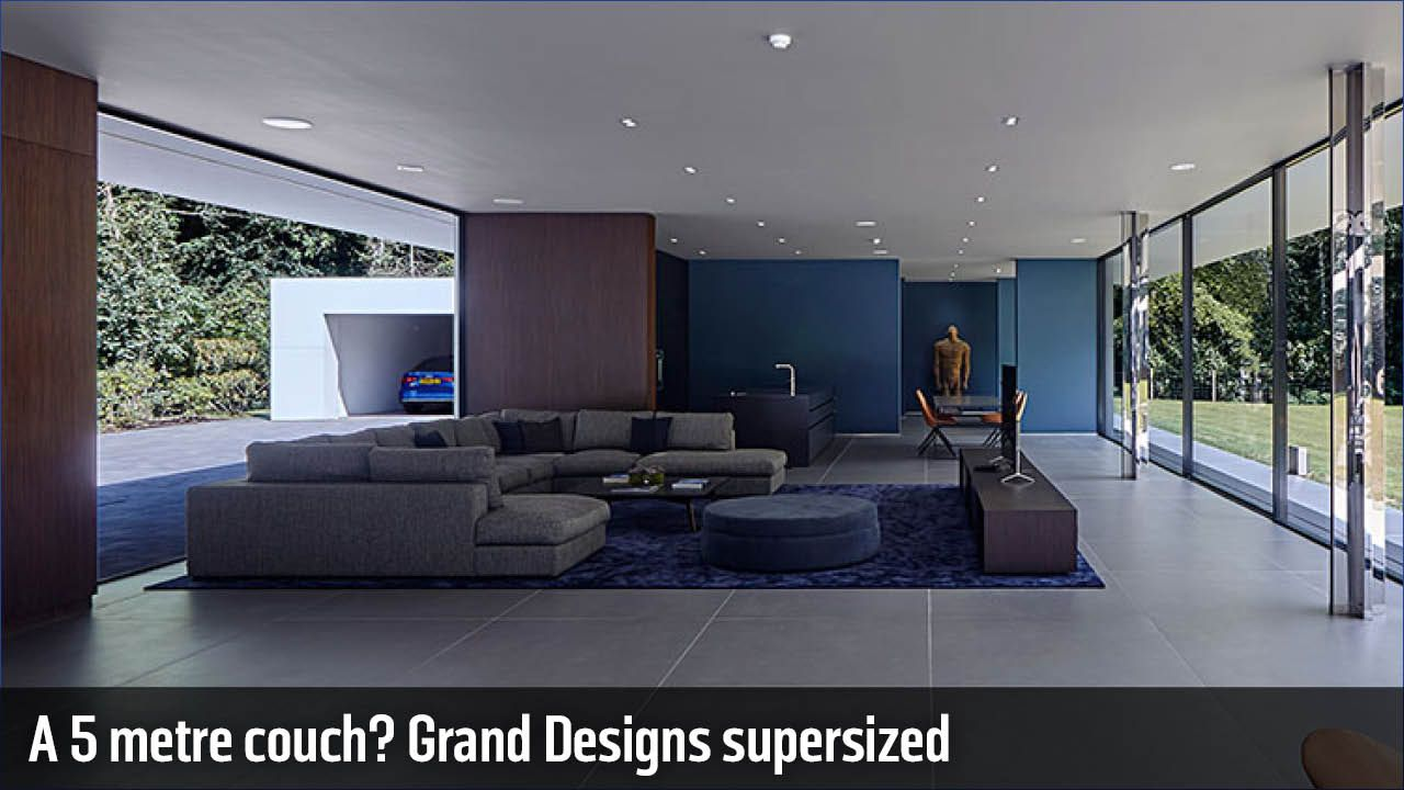 Grand Designs Single Use Only Permitted Grand Designs Houses Modern Eclectic Living Room Grand Designs