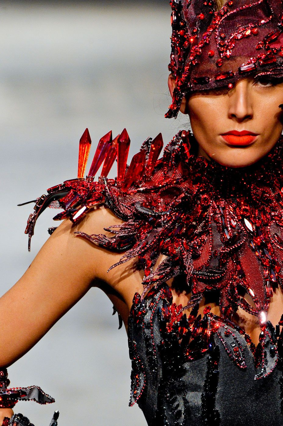 On Aura Tout Vu at Couture Spring 2012 if i made this.. gee whiz