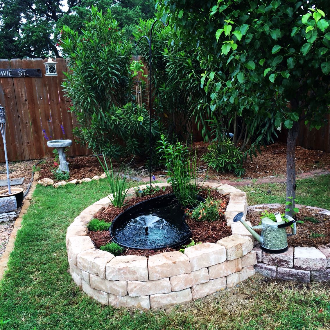 Above ground pond i like the general design but the for Above ground koi pond design ideas