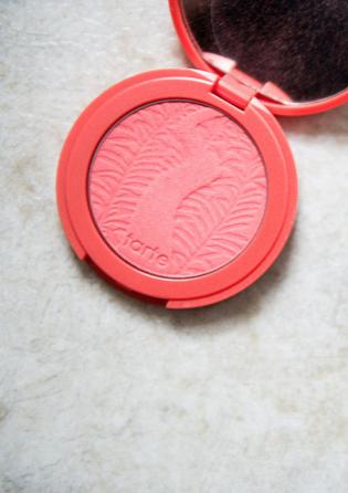 tarte amazonian clay blush in tipsy | howsweeteats.com