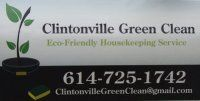Columbus Ohio   Eco-Friendly Housekeeping Service    https://www.facebook.com/Clintonvillegreenclean