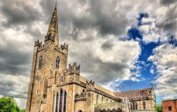 St. Patrick's Cathedral in Dublin. Image: iStock.