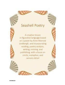 Seashell Poetry - A creative lesson in figurative language. For older students but a good idea to modify for my 3rd graders.