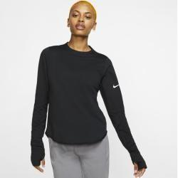 Nike Sphere Langarm-Laufoberteil für Damen - Schwarz Nike
