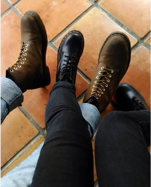 5f4aa9e7aebb Fashion Shoes · Dr Martens · Double Docs  the 1460 boot and 1460 Crazy  Horse boot. Dr Martens 1460