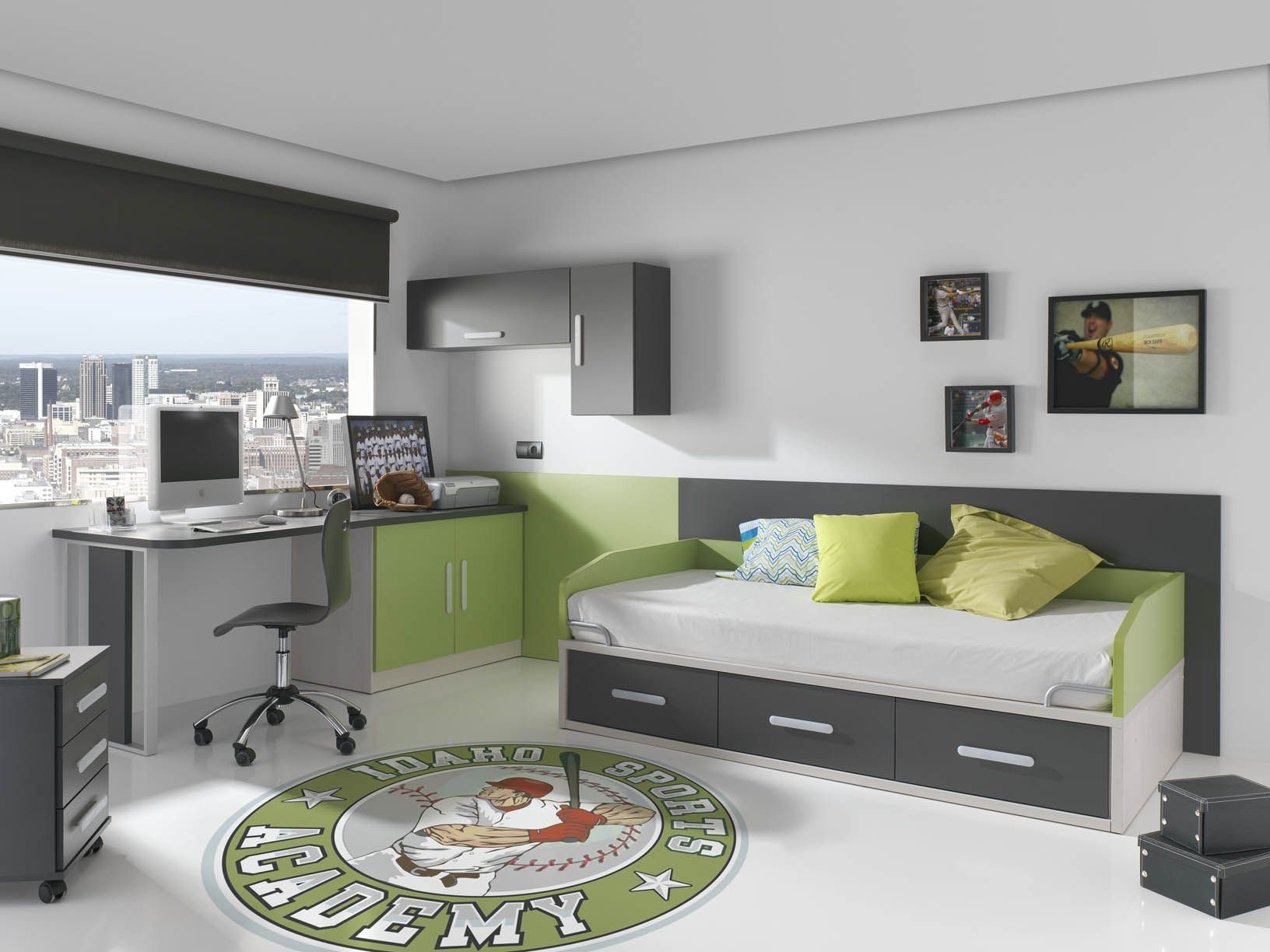 Las mejores habitaciones juveniles del mundo buscar con - Mundo joven muebles catalogo ...