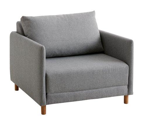 fotelágy norodden világosszürke  jysk  furniture