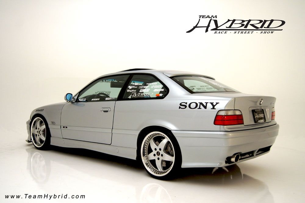 Fully Custom Bmw 328i E36 Owned By Team Hybrid President James Lin Blends Style And Performance