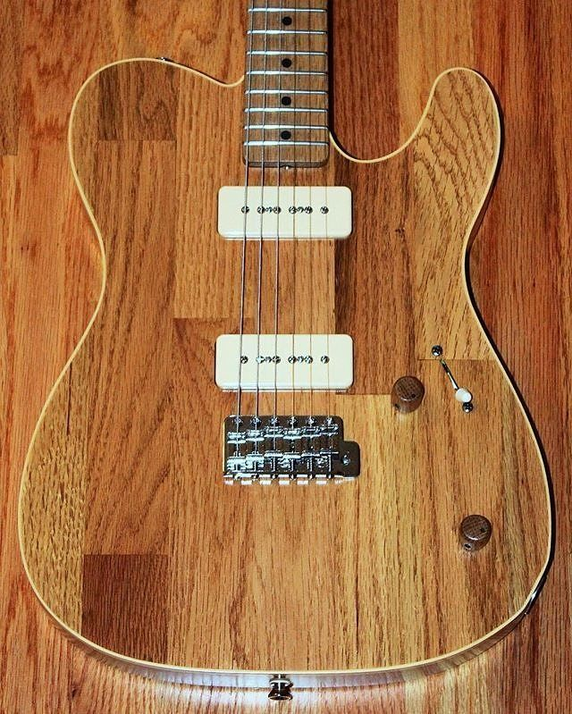 This Is The Ultimate Definition Of Up Cycling Stewmade Guitars Had Some Leftover Hardwood Flooring Scraps So Naturally Guitar Guitar Building Luthier Guitar