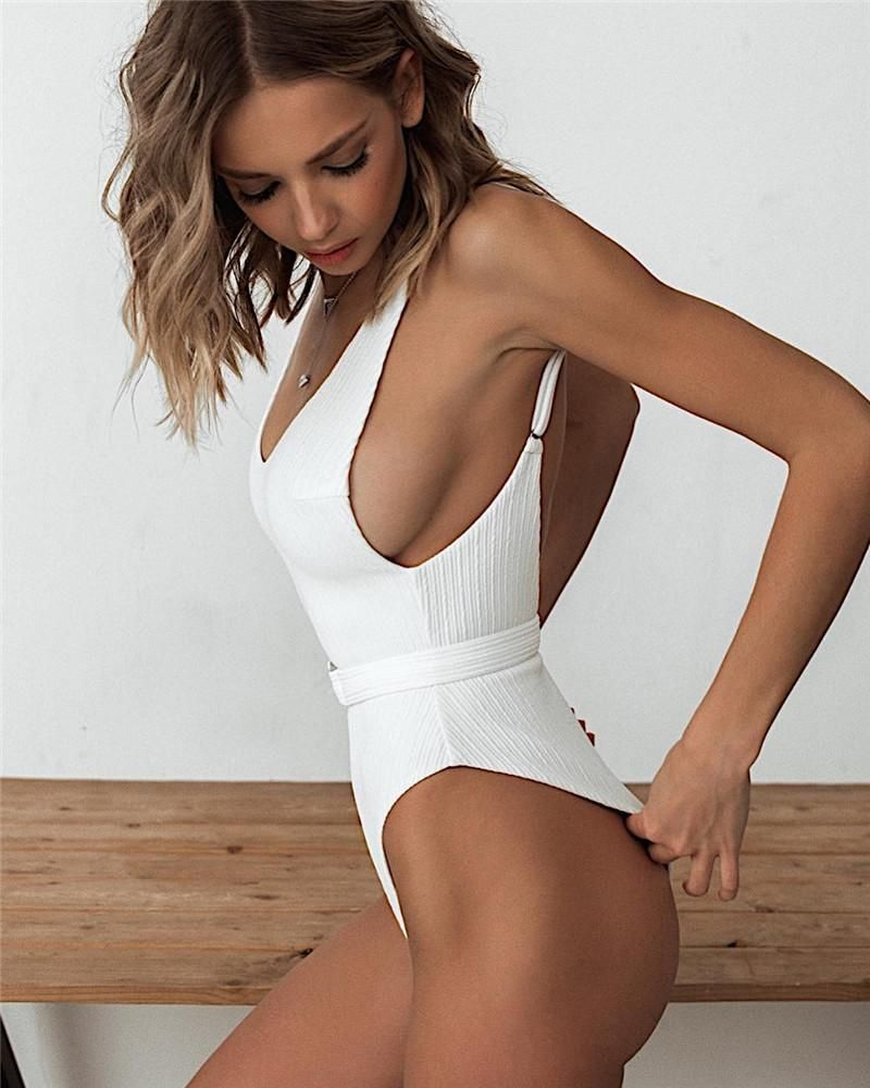 de10040f857e WHY ME white One Piece from our Surf-2-Swim Collection for 2019 in ...