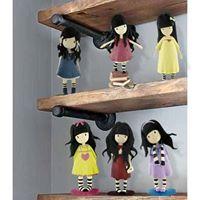 La Nueva Colección de figuritas Gorjuss para coleccionar o decorar tus pasteles!
