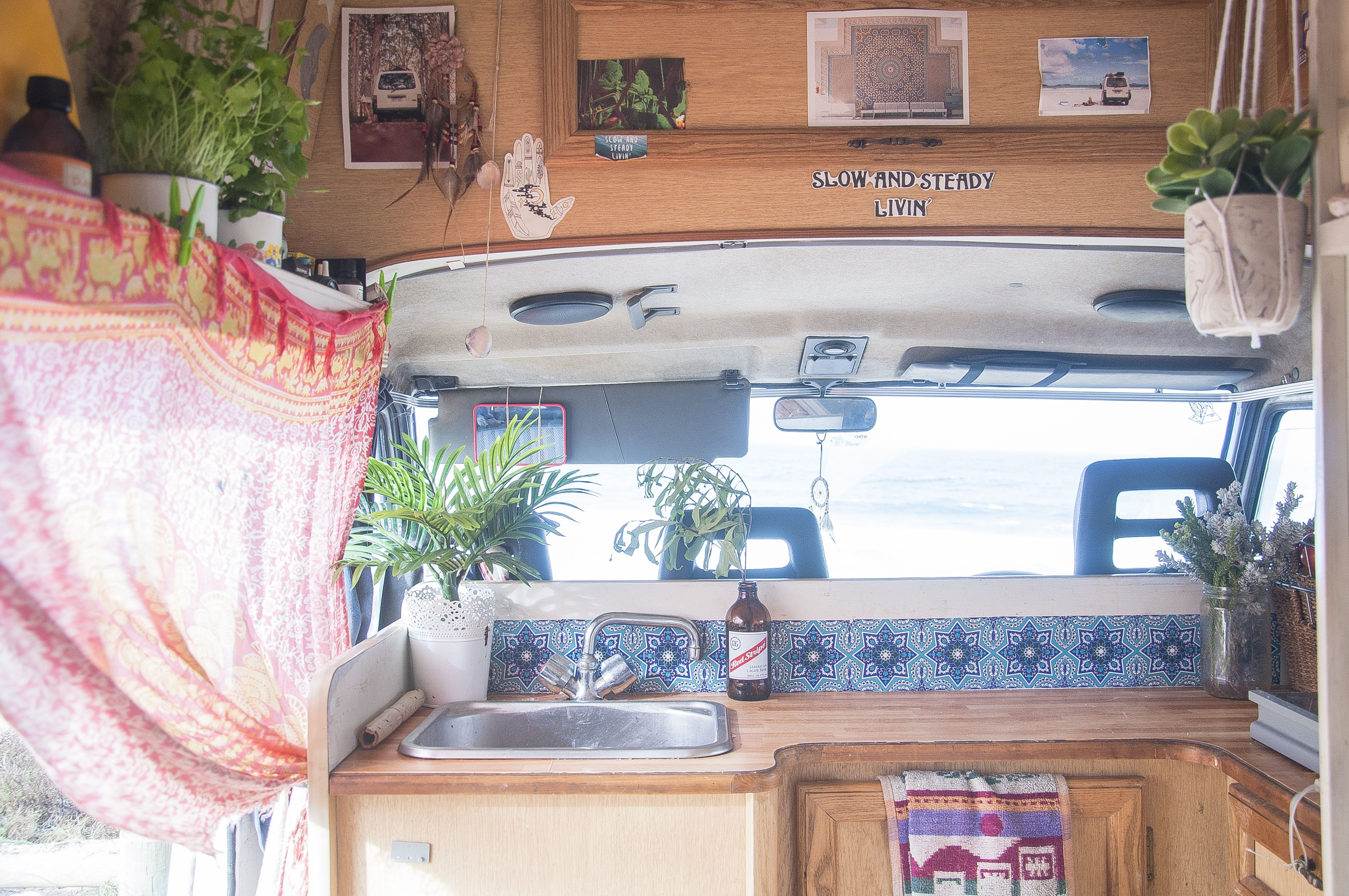 Two People Live in This Cozy, 140-Square-Foot Van | Square ...