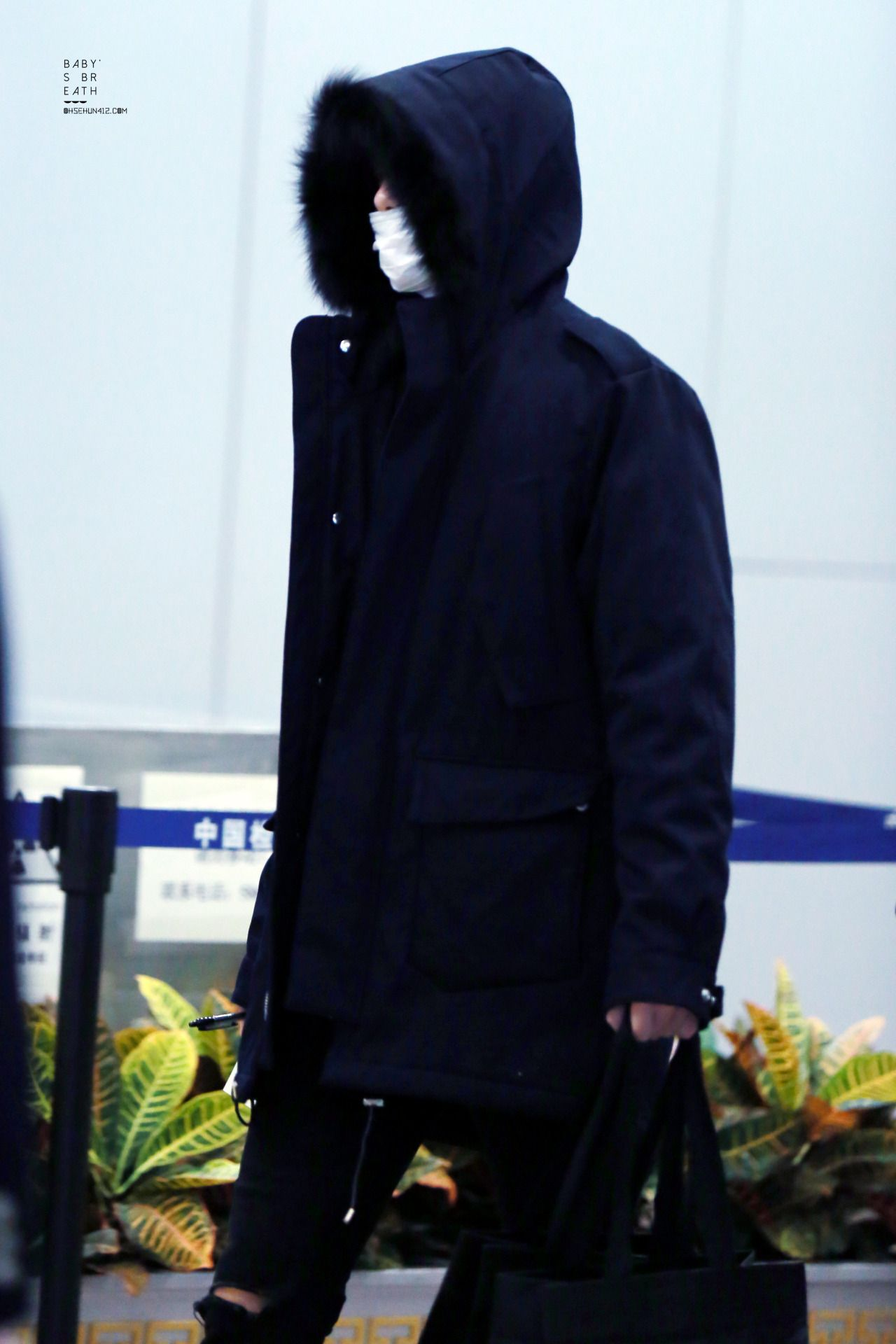 Beijing Airport from Gimpo 151231 : Sehun (1/2)