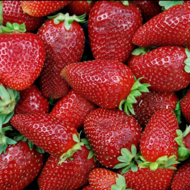 Strawberries straight .... Sweet and Yummie