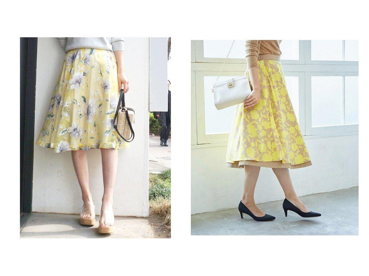 3b482975c46eb スカートのおすすめ!人気、春夏ファッションの通販  ROPE ロペ のL ...