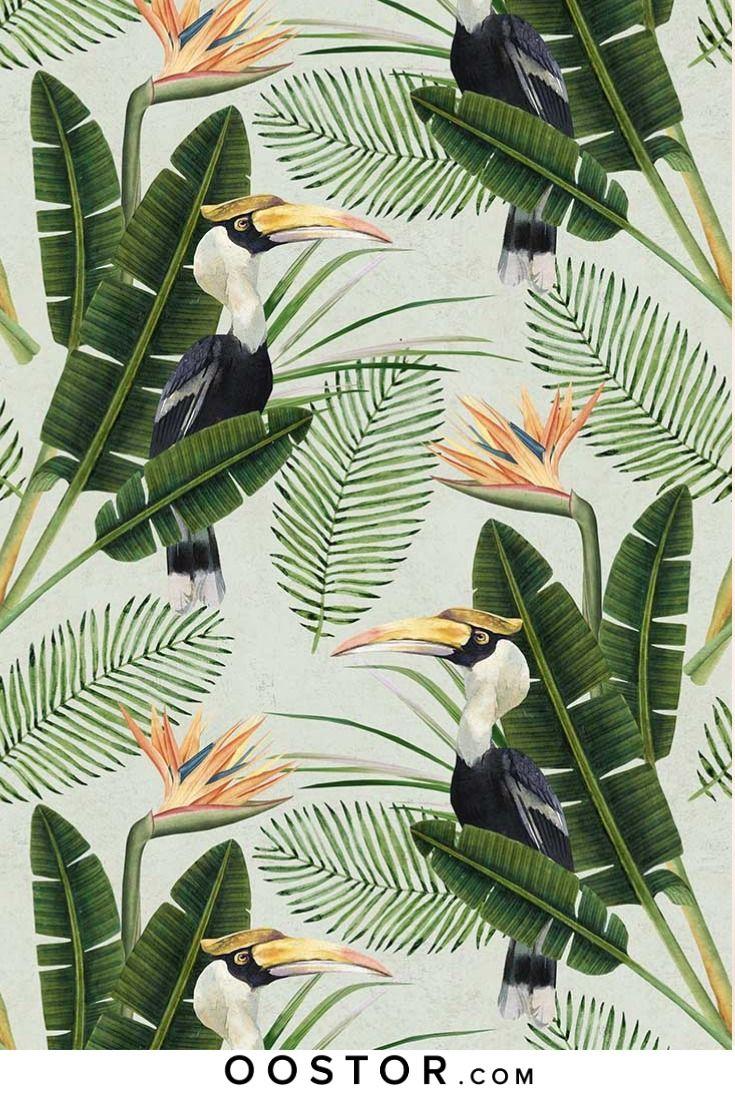 Birds Of Paradise Wallpaper in 2020