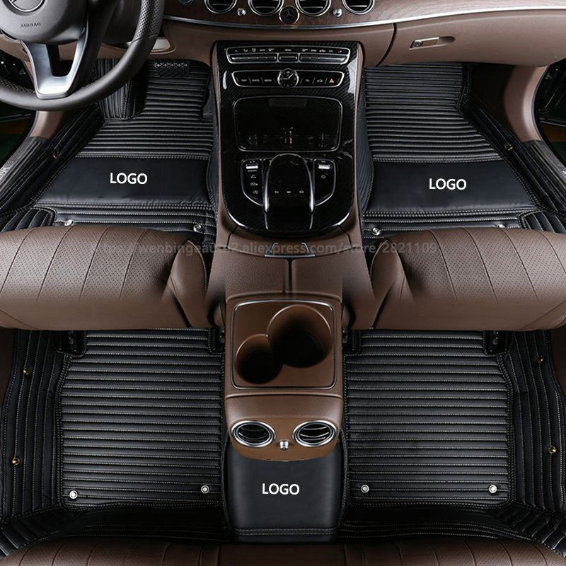 Custom car floor mats for hummer all model h2 h3 car styling auto accessories car stickers