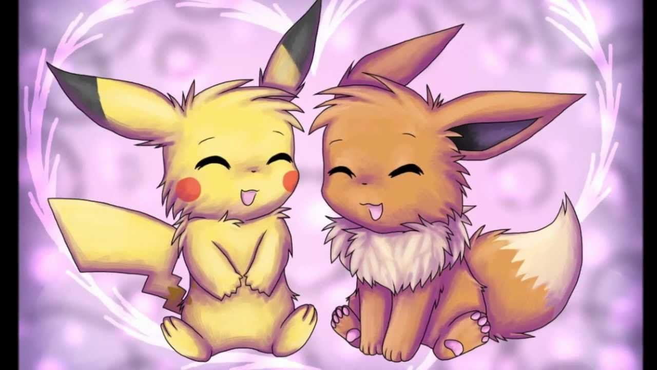 Pokemon Ausmalbilder Hydropi : Valentine S Tribute Pikachu X Eevee Youtube Pokemon Pinterest