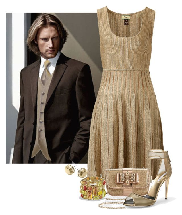 Semi Formal by terry-tlc on Polyvore featuring polyvore fashion style Issa Diane Von Furstenberg Christian Louboutin David Yurman Michael Kors clothing