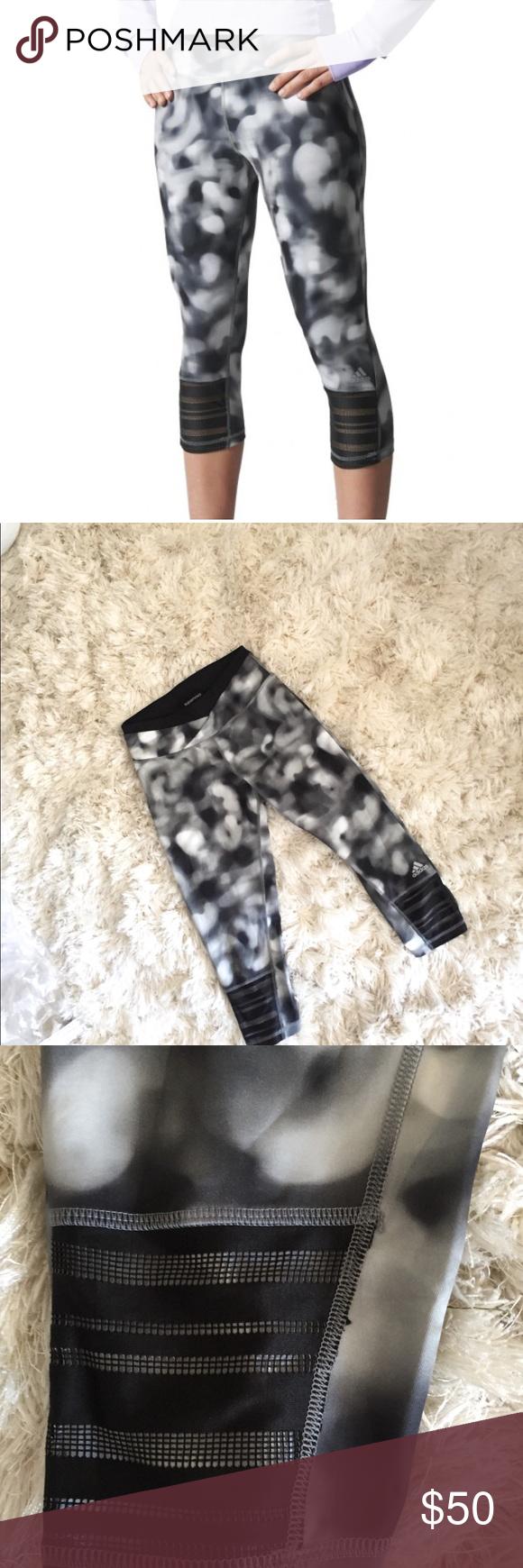 e12e2451e13e Adidas Supernova Workout Leggings Capri Pants Great condition! Black ...