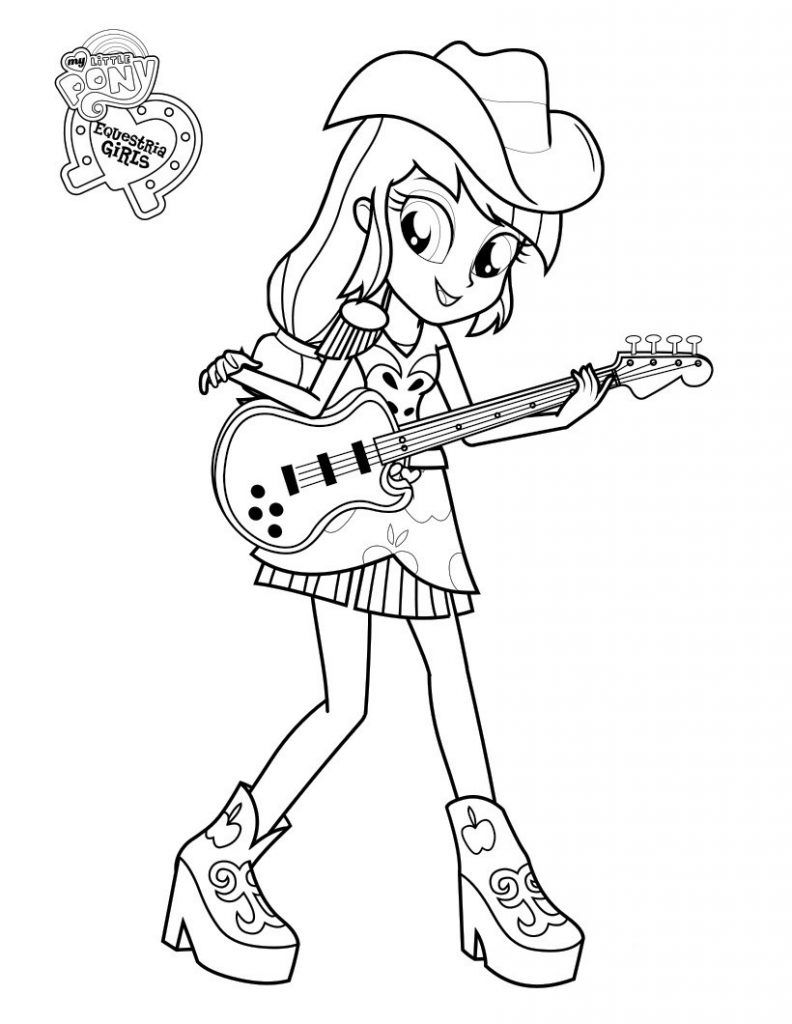 Applejack Coloring Pages Best Coloring Pages For Kids My Little Pony Coloring Unicorn Coloring Pages Mermaid Coloring Pages