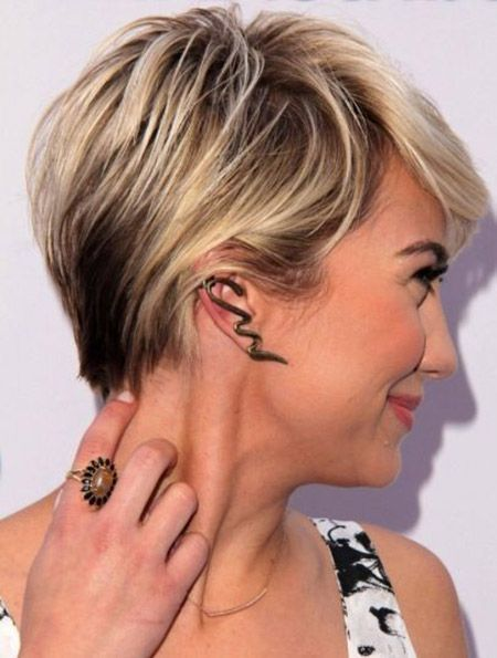 Enjoyable 1000 Images About Hairstyles On Pinterest Thick Hair Short Short Hairstyles Gunalazisus