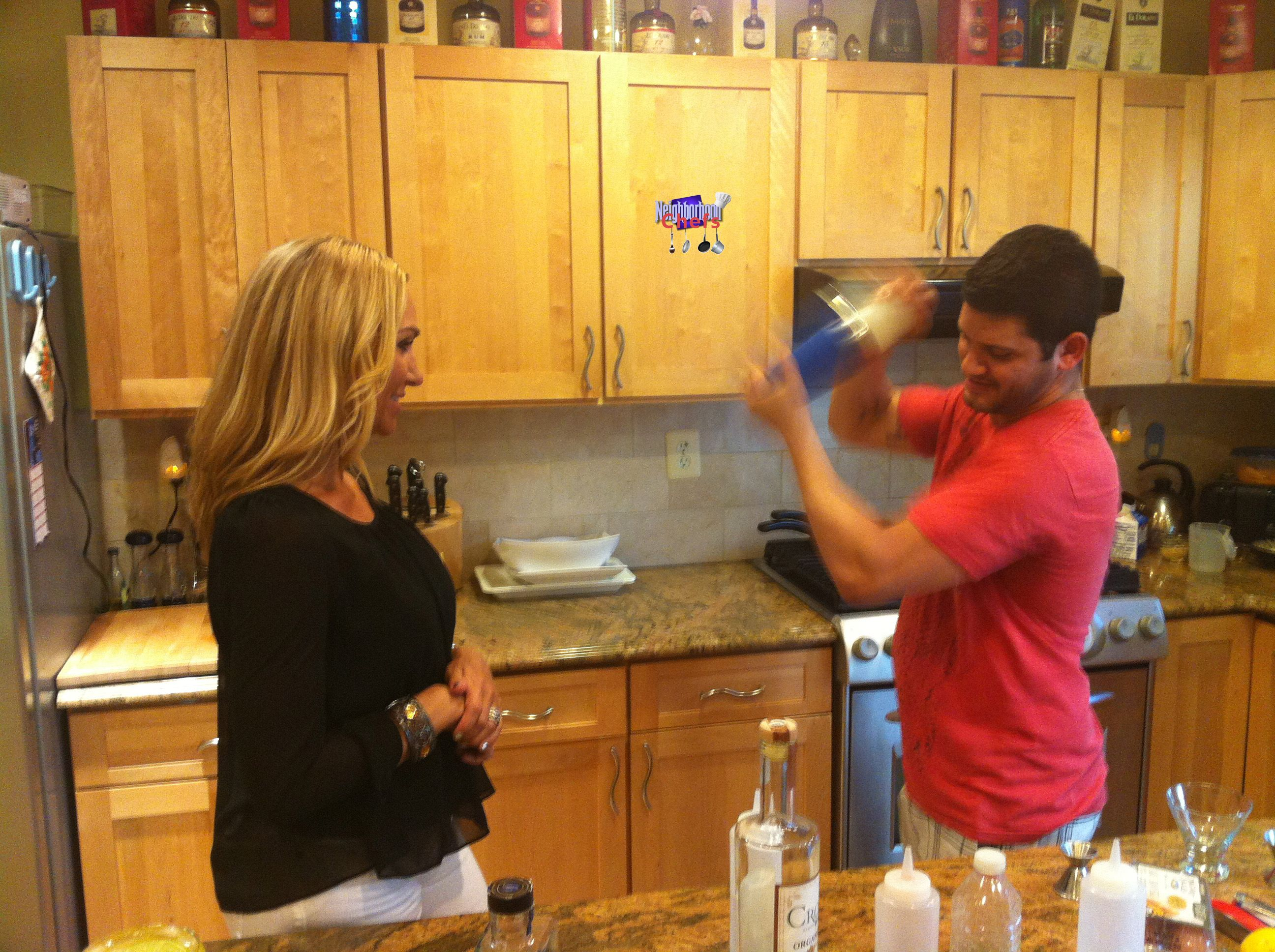 Jodi W Mixologist Frank Oley Mixologist Kitchen Cabinets The Neighbourhood