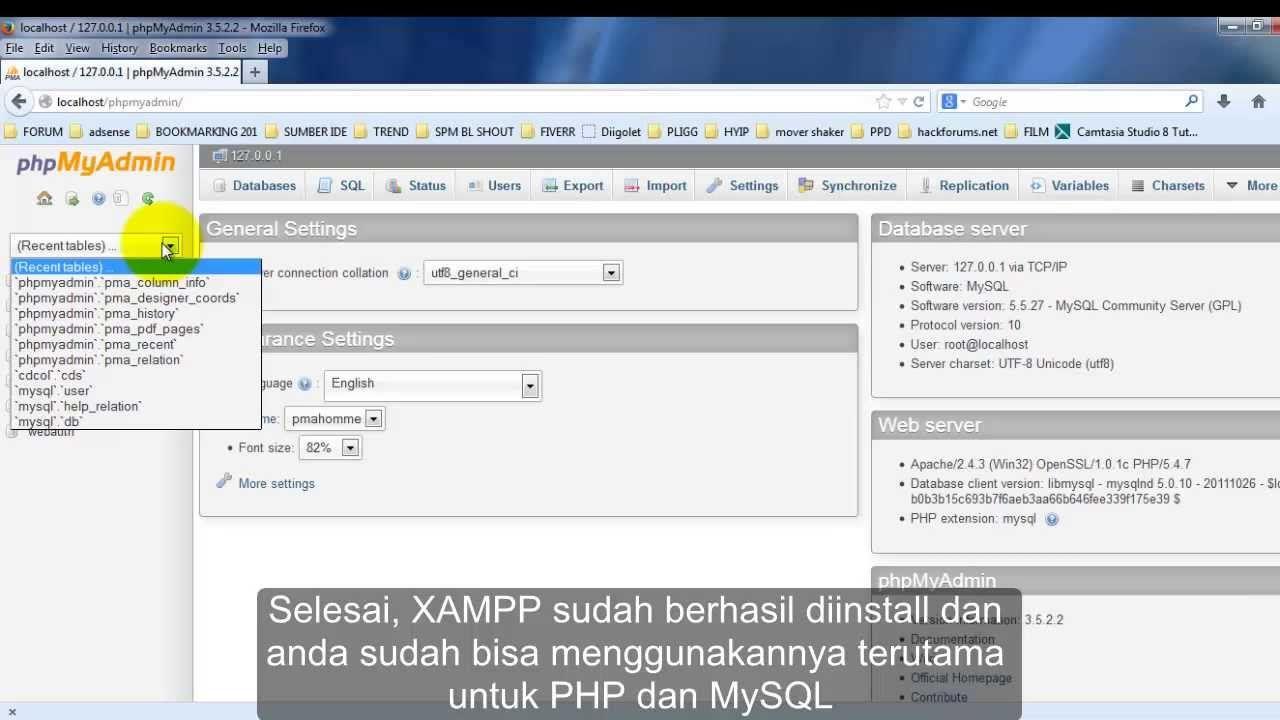 install xampp server windows 10