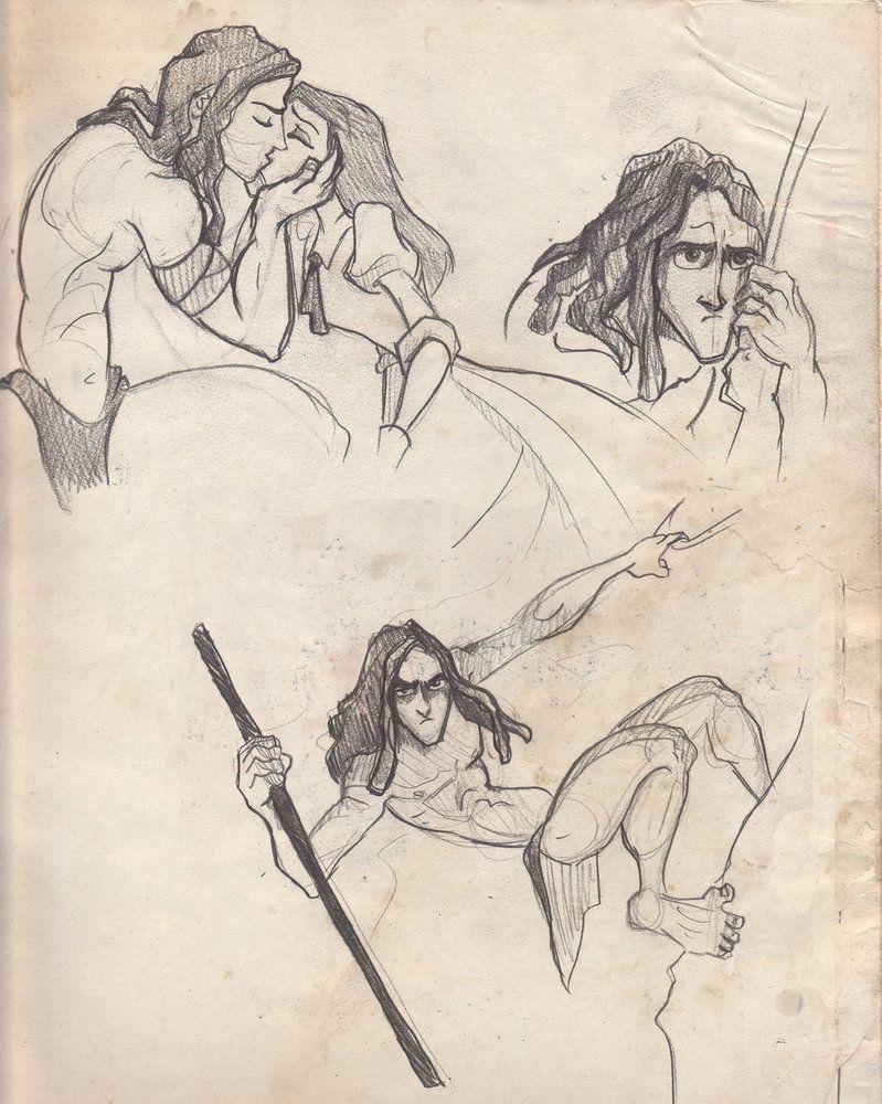 42+ Tarzan sketch info