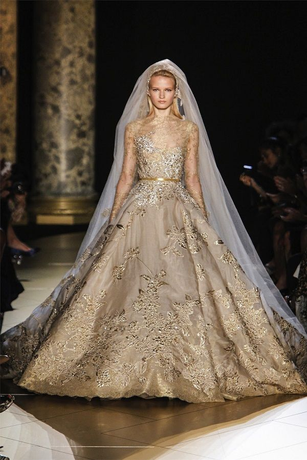 Elie Saab Haute Couture Fall/Winter 2012/13.