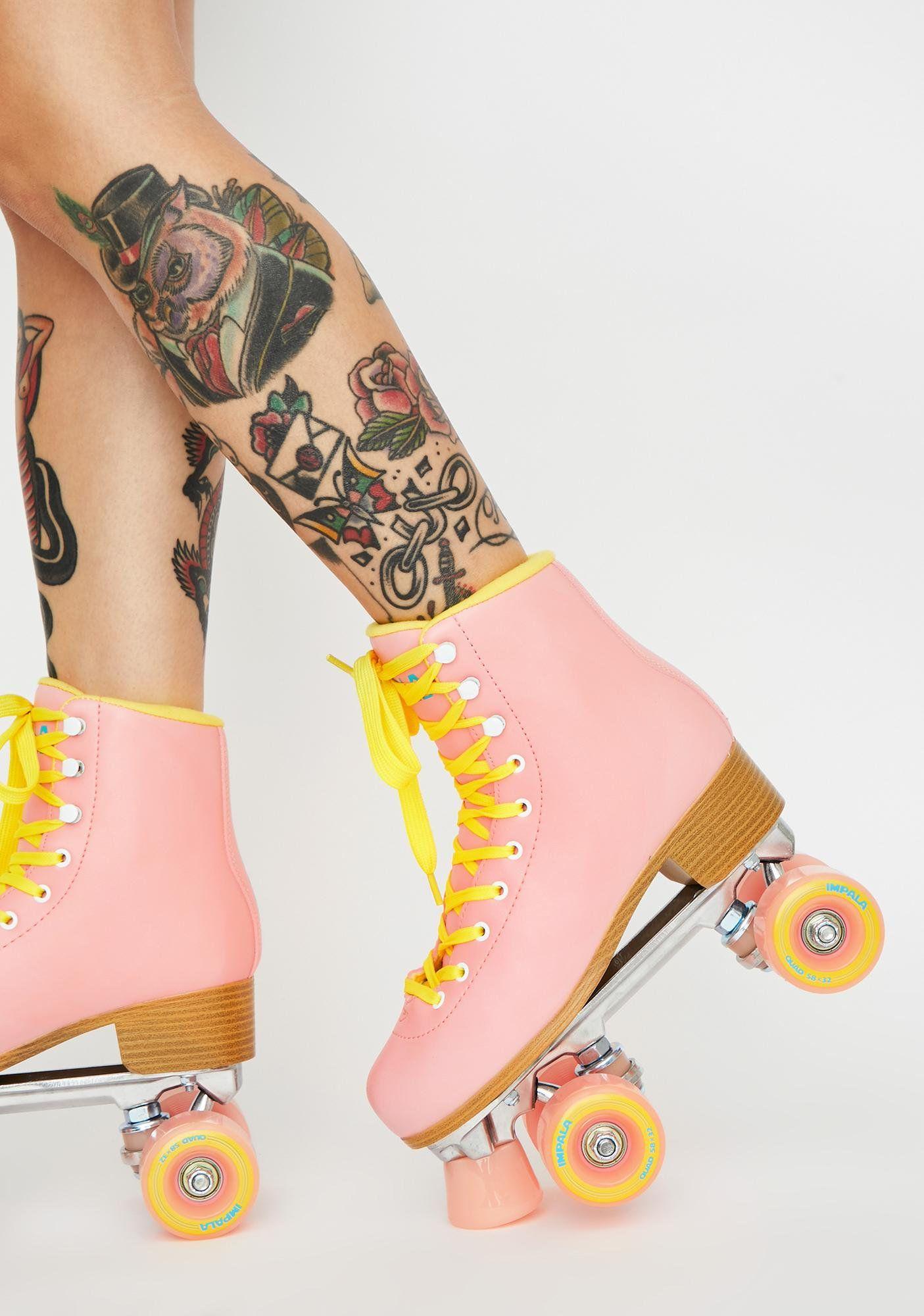 Impala Rollerskates Pink Impala Quad Skates Dolls Kill Quad Roller Skates Quad Skates Retro Roller Skates