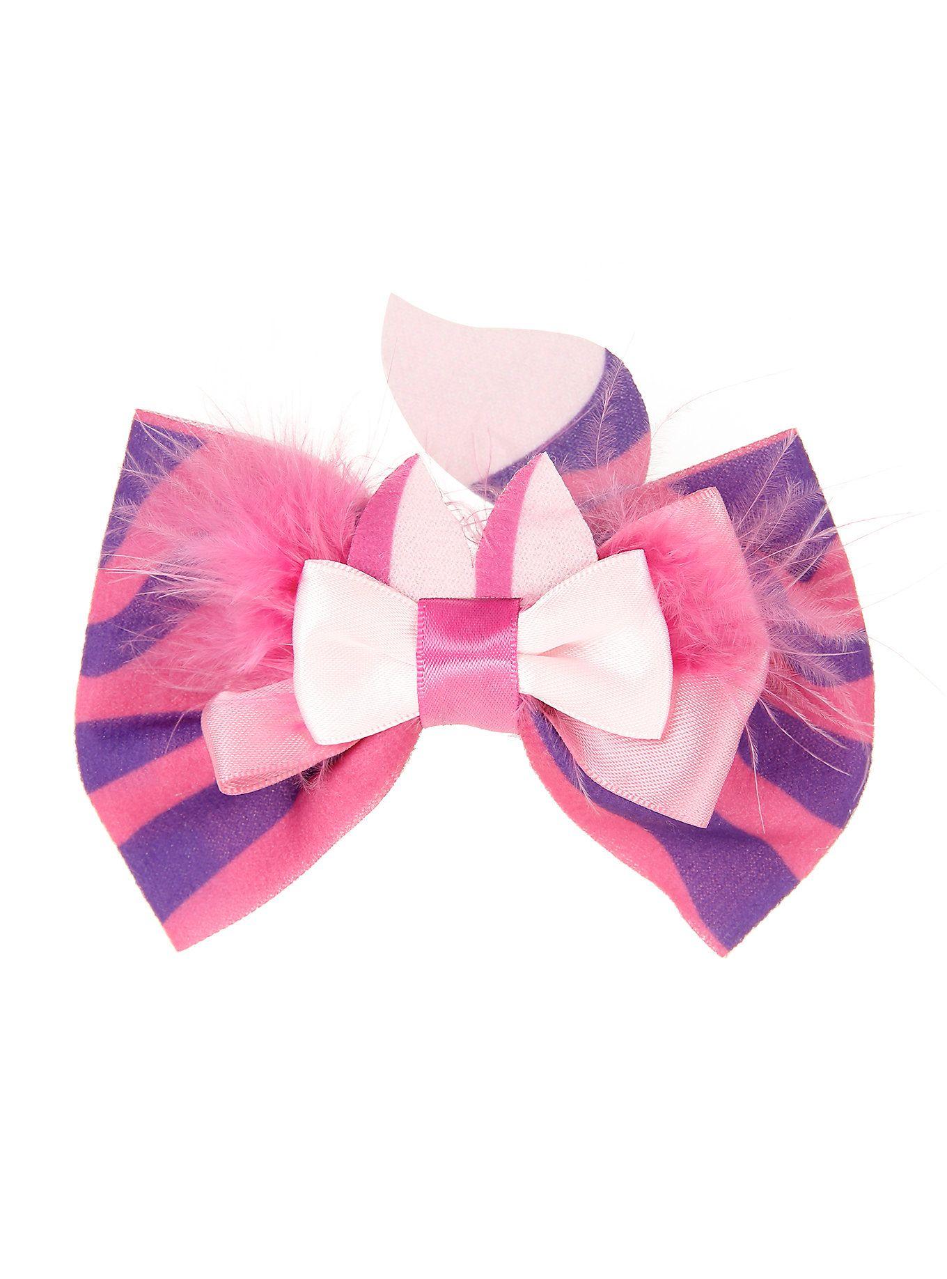 Disney Alice In Wonderland Cheshire Cat Cosplay Hair Bow