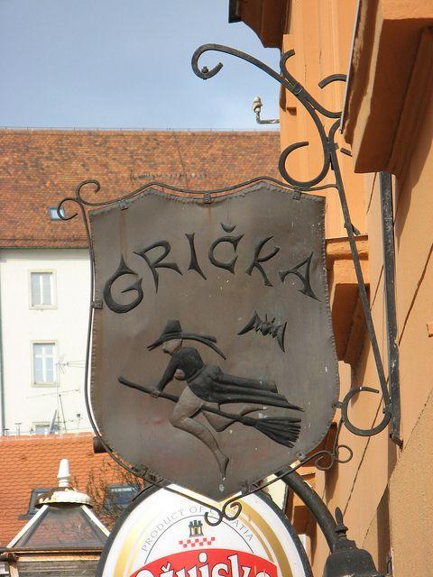 Sorciere Zagreb Shop Signs Metal Signage Street Signs
