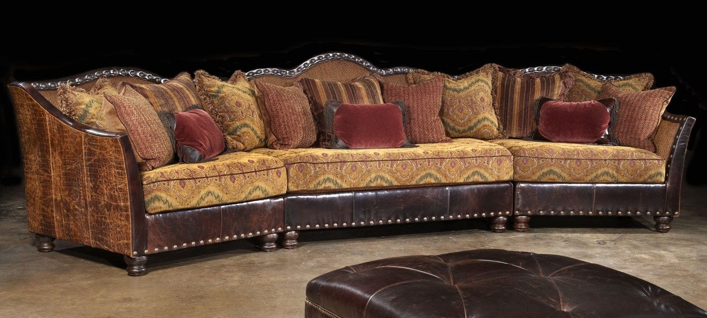 Western Style Leather Sofas
