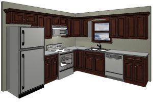 10 X 10 Kitchen Design Idea Knock Down Wall Between Kitch And
