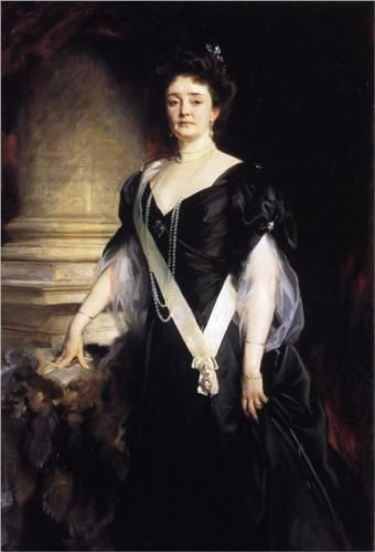 H.R.H. the Duchess of Connaught and Strathearn (Princess Louisa Margaret Alexandra Victoria Agnes of Prussia) - John Singer Sargent, 1907-08