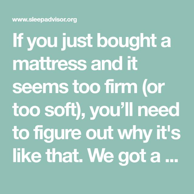 How To Make Your Firm Hard Mattress Softer Sleep Advisor Mattress Soft Memory Foam Mattress