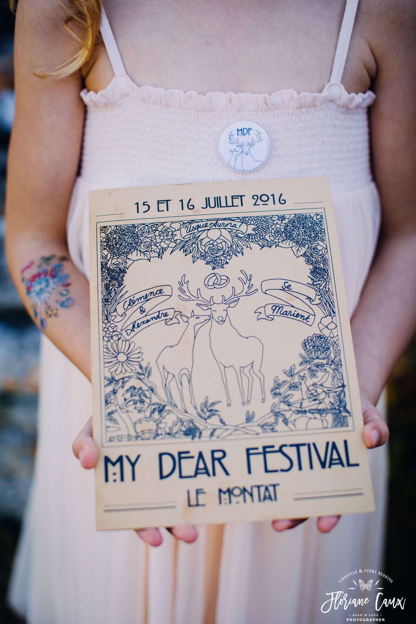 {Mariage Festival et vélo licorne à Cahors} My Dear Festival