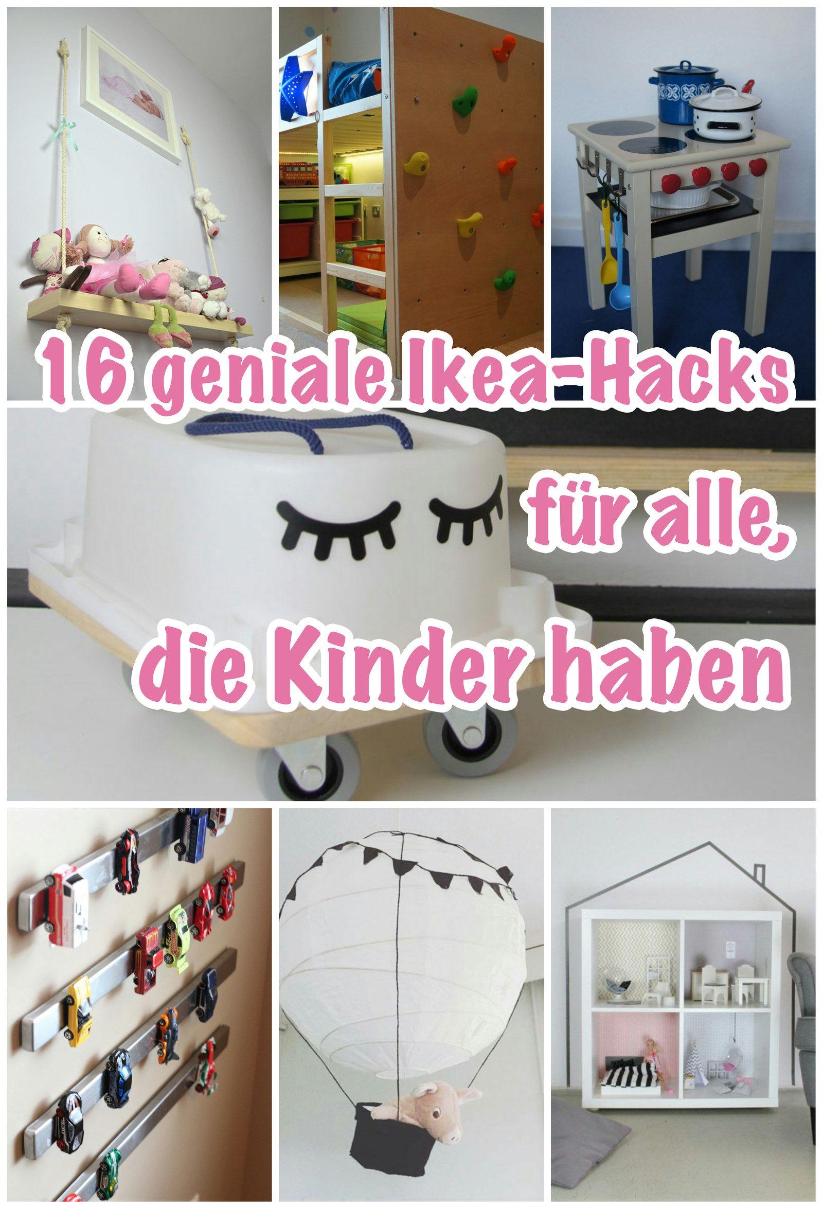 16 geniale Ikea-Hacks, die jedes Kinderzimmer schöner und ...