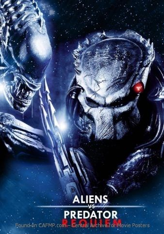 New Movie Poster Aliens Vs Predator Requiem See The Full And Large
