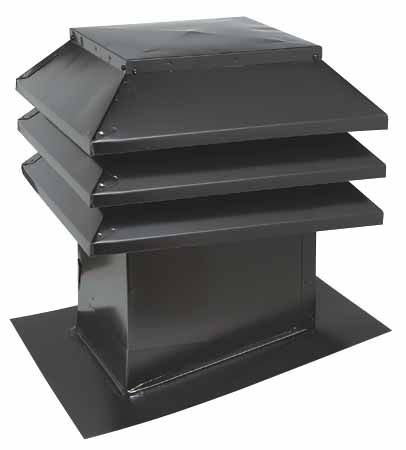 Ventilation Maximum Sloped Roof Vent 12 X 12 Black 303 12 N Rona Roof Vents Roof Ventilator Attic Insulation