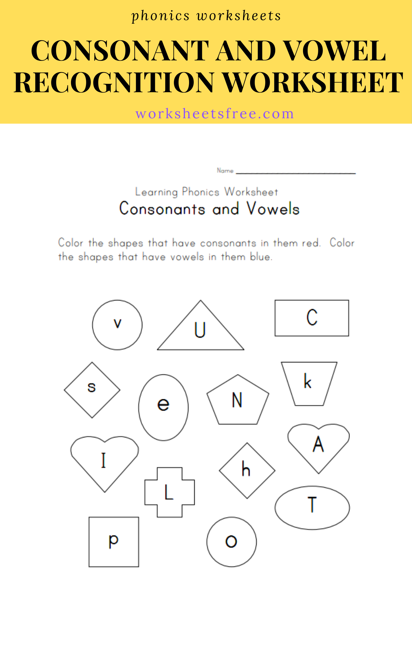8 Awesome Free Phonics Worksheets In