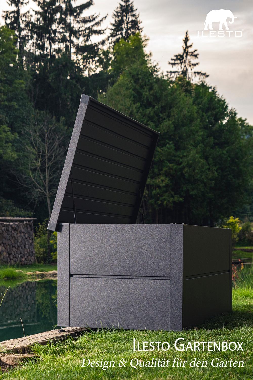 Ilesto Gartenbox Design Qualitat Fur Den Garten Gartenbox Gartenarchitektur Auflagenbox