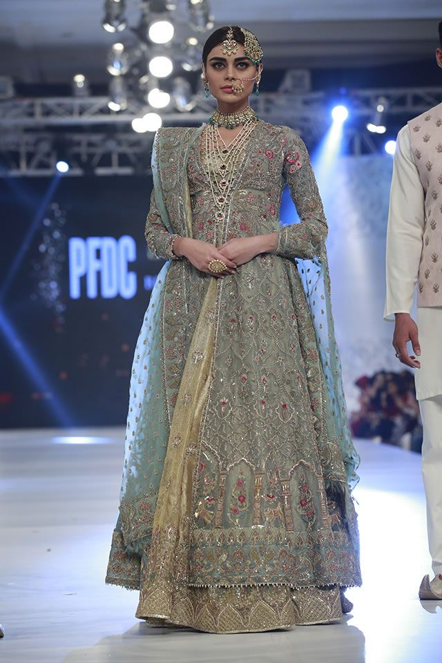 7c3e9d2b ZARA SHAHJAHAN BRIDAL COLLECTION L'OREAL BRIDAL WEEK 2017 | 1000 ...