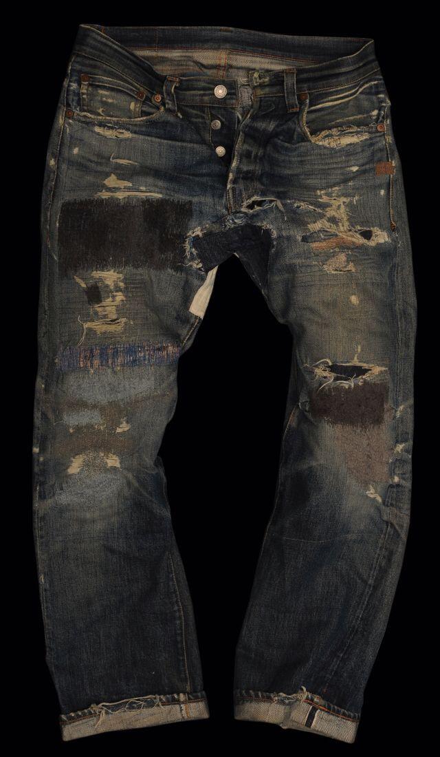 Levi's Vintage Clothing 501XX 1947 fading