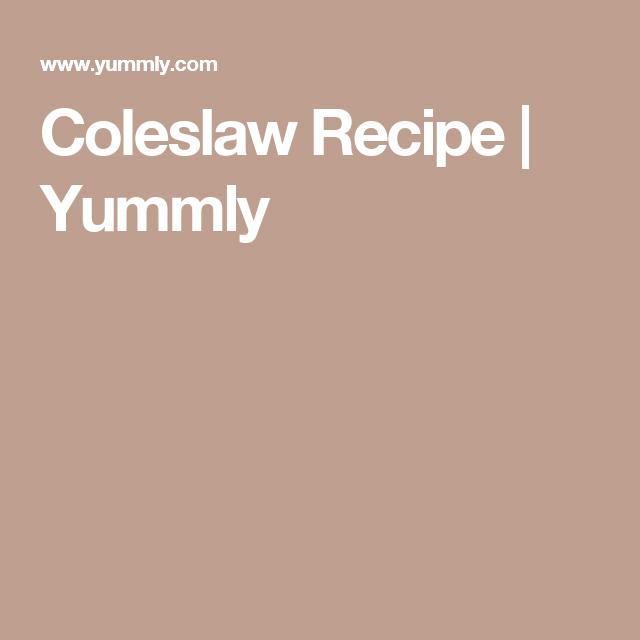 Coleslaw Recipe | Yummly